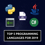 Top 5 Programming Languages For 2019