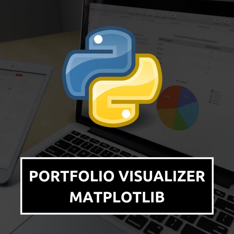 Portfolio Visualizer with Matplotlib in Python